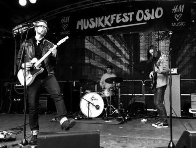 Håkon Høye & The HoneyTones (foto: Gunnar Knutsen)